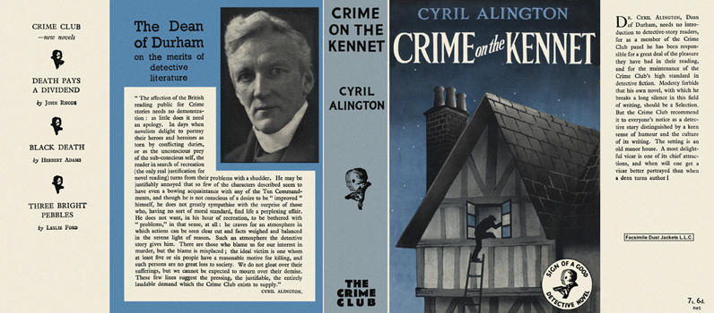 Crime on the Kennet. Cyril A. Alington