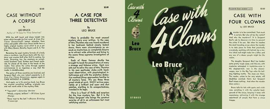 Case with Four Clowns. Leo Bruce.