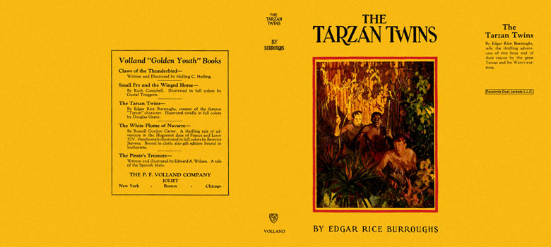 Tarzan Twins, The. Edgar Rice Burroughs