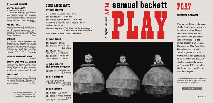 Play. Samuel Beckett.