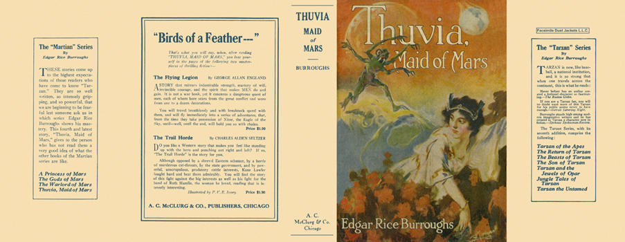 Thuvia, Maid of Mars. Edgar Rice Burroughs