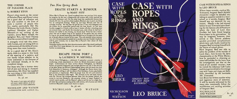 Case with Ropes and Rings. Leo Bruce.