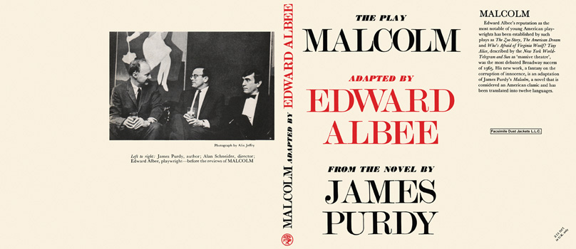 Malcolm, The Play. Edward Albee, James Purdy.