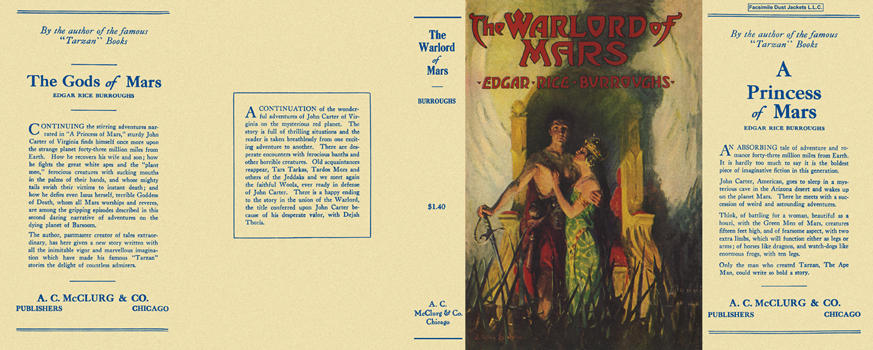 Warlord of Mars, The. Edgar Rice Burroughs