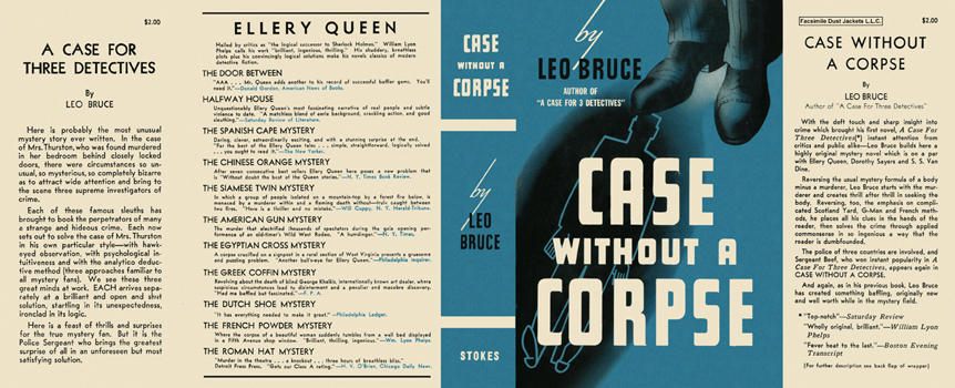Case Without a Corpse. Leo Bruce.
