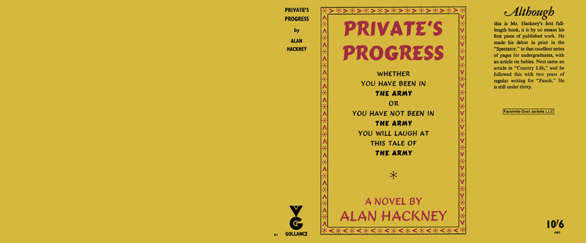 Private's Progress. Alan Hackney.