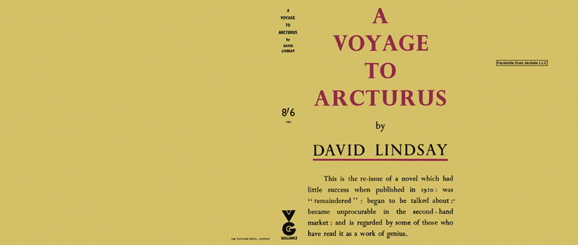 Voyage to Arcturus. David Lindsay