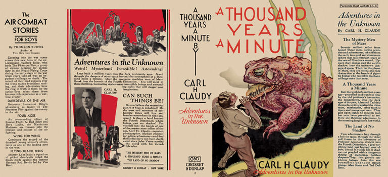 Thousand Years a Minute, A. Carl H. Claudy