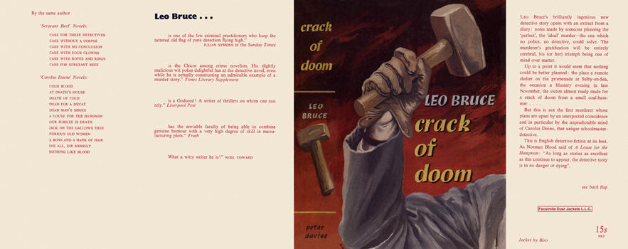 Crack of Doom. Leo Bruce.