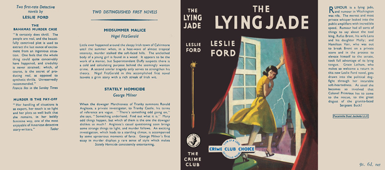 Lying Jade, The. Leslie Ford