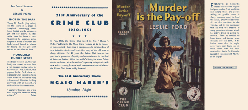 Murder Is the Pay-Off. Leslie Ford