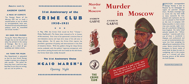 Murder in Moscow. Andrew Garve.