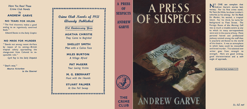 Press of Suspects, A. Andrew Garve.