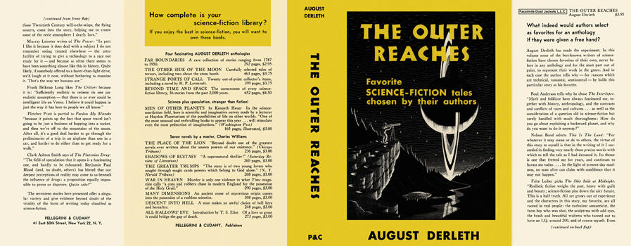 Outer Reaches, The. August Derleth.