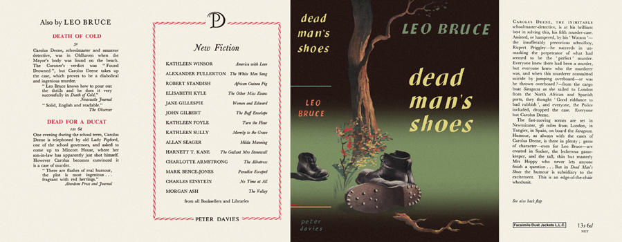 Dead Man's Shoes. Leo Bruce.