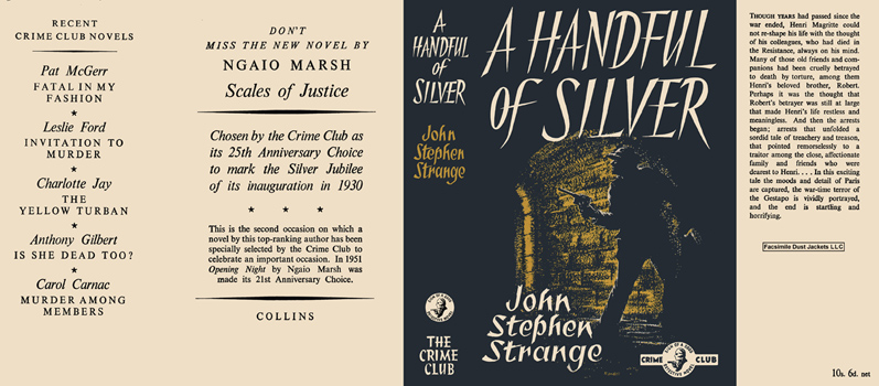 Handful of Silver. John Stephen Strange