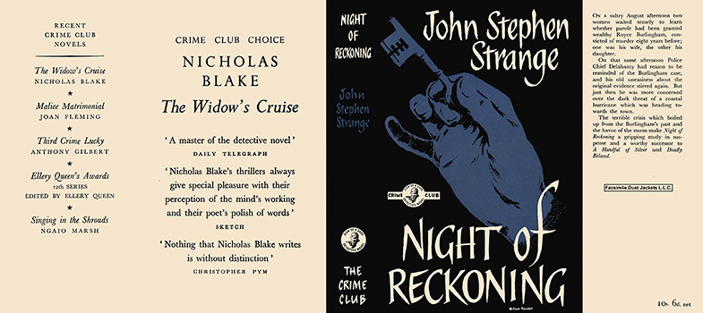 Night of Reckoning. John Stephen Strange