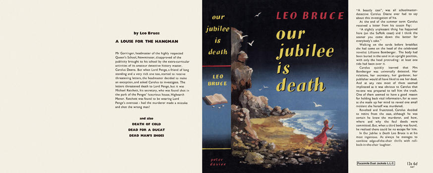 Our Jubilee Is Death. Leo Bruce.
