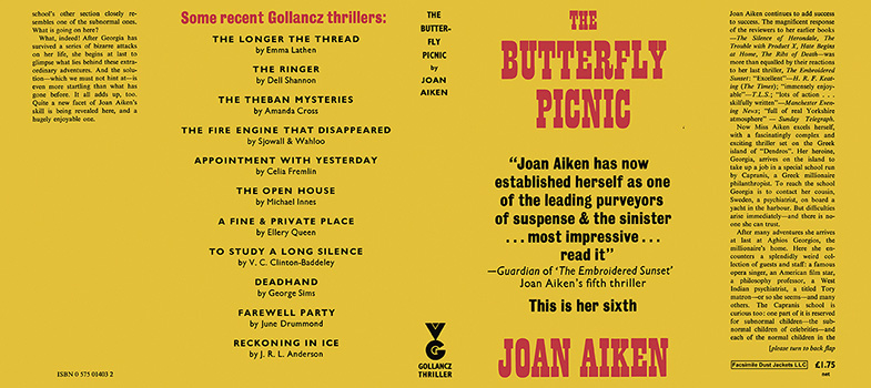 Butterfly Picnic, The. Joan Aiken