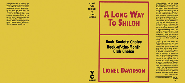 Long Way to Shiloh, A. Lionel Davidson.
