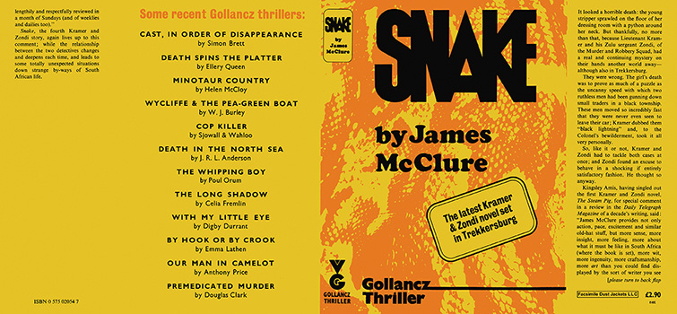 Snake. James McClure