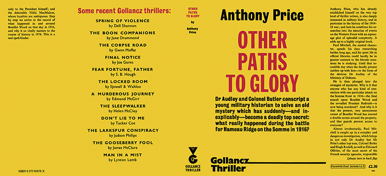 Other Paths to Glory. Anthony Price.