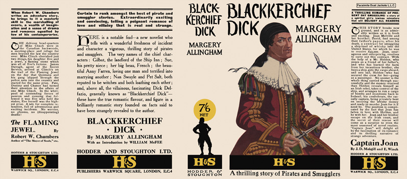 Blackkerchief Dick. Margery Allingham