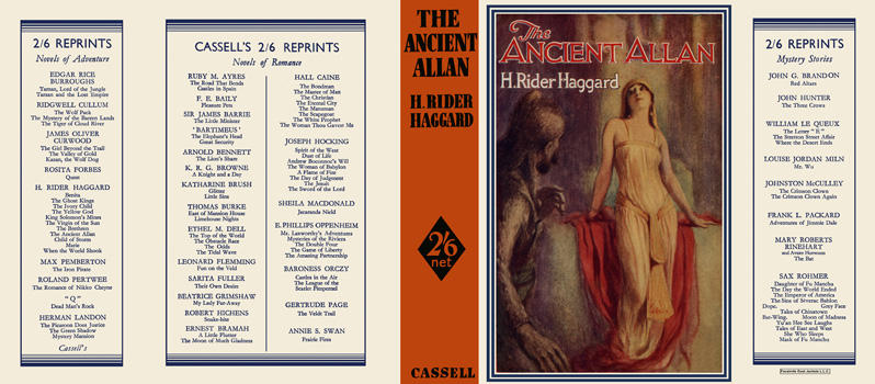 Ancient Allan, The. H. Rider Haggard.