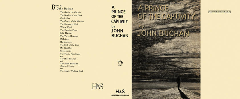 Prince of the Captivity, A. John Buchan.