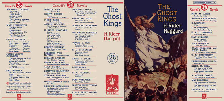 Ghost Kings, The. H. Rider Haggard.