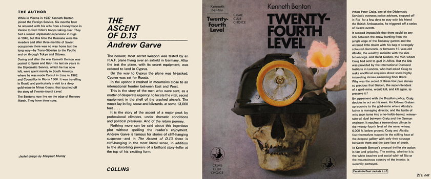 Twenty-Fourth Level. Kenneth Benton.