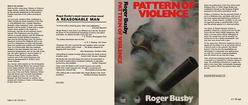 Pattern of Violence. Roger Busby.