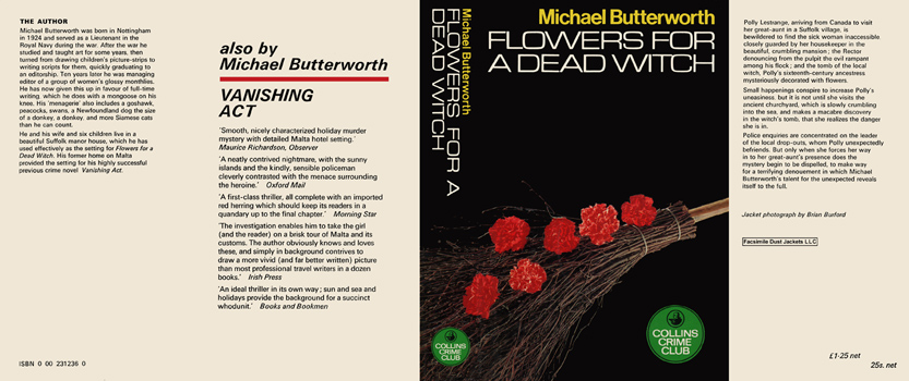 Flowers for a Dead Witch. Michael Butterworth.