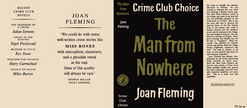 Man from Nowhere, The. Joan Fleming