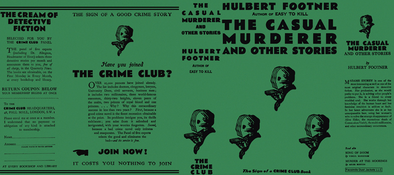 Casual Murderer and Other Stories, The. Hulbert Footner