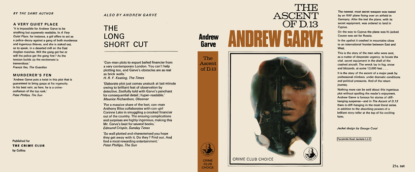 Ascent of D.13, The. Andrew Garve