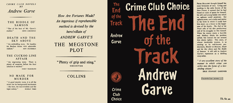 End of the Track, The. Andrew Garve