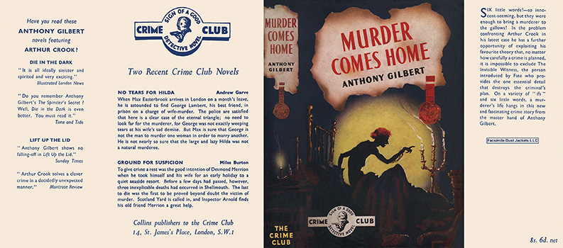 Murder Comes Home. Anthony Gilbert.