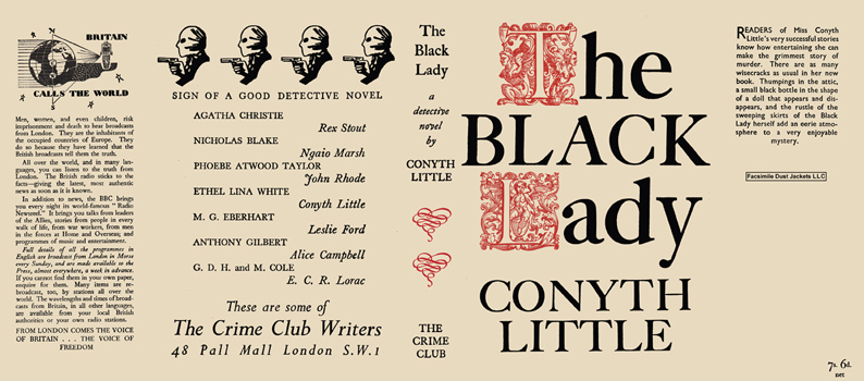 Black Lady, The. Conyth Little.