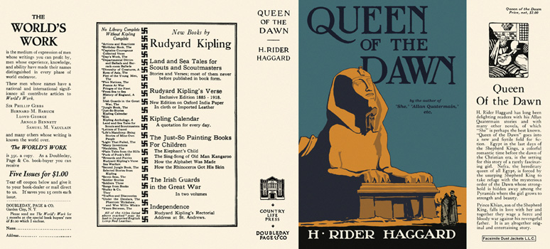 Queen of the Dawn. H. Rider Haggard