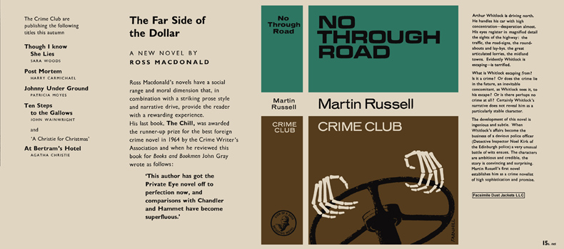 No Through Road. Martin Russell.