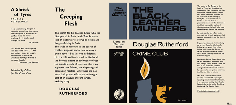Black Leather Murders, The. Douglas Rutherford