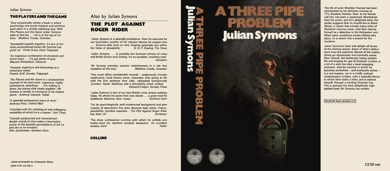 Three Pipe Problem, A. Julian Symons.