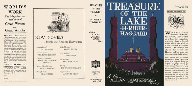 Treasure of the Lake. H. Rider Haggard