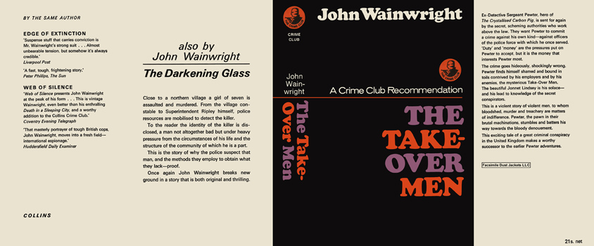 Take-Over Men, The. John Wainwright.