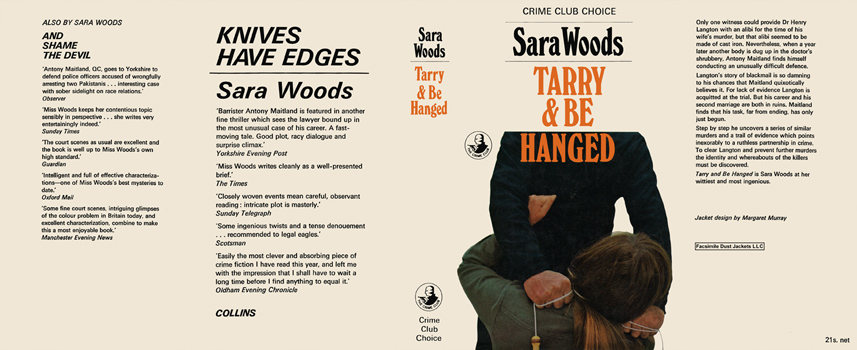 Tarry and Be Hanged. Sara Woods.