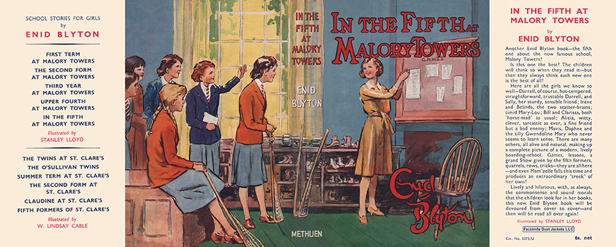 In the Fifth at Malory Towers. Enid Blyton, Stanley Lloyd