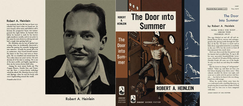 Door into Summer, The. Robert A. Heinlein.
