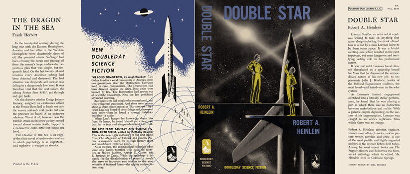Double Star. Robert A. Heinlein.