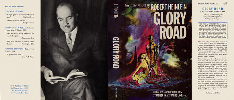 Glory Road. Robert A. Heinlein.